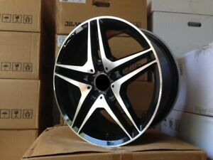 19 Amg Black Rims Wheels Fits Mercedes Benz S Class S430 S500 S550 S400 S600