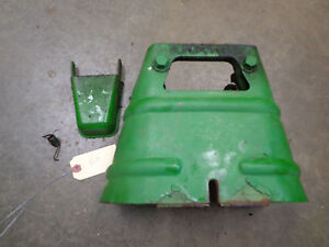 John Deere 520 530 620 630 720 730 Pto Casting Bracket Shield Nice Original 5