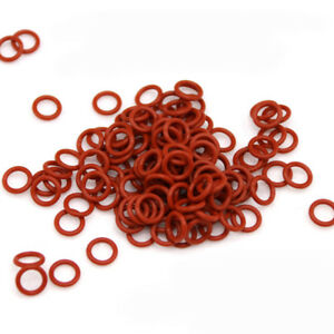 Silicon Rubber O ring Seals Washers Gasket Food Grade Od 5 40mm Wire Dia 1 5mm