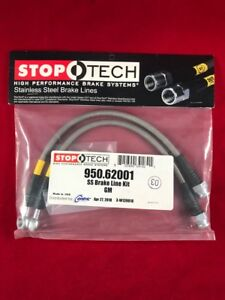Stoptech Stainless Steel Front Brake Line 93 02 Chevy Camaro 950 62001