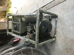 Military Diesel Generator 2 Kw Only 19 Hours