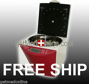 Ample Scientific Variable Speed 8x15ml 5000 Rpm Swingout Centrifuge S 50d