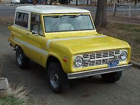 1966 1977 Ford Bronco Vintage Air System Ac heat 4x4 Classic