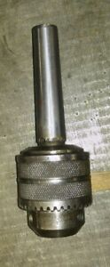 Jacobs No 3 Drill Chuck With Mt 3 Taper Shank Cap 17 32 Key Patent 1902