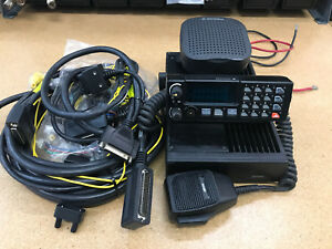 Harris M7100 110w Uhf Remote Mount Mobile Radio P25 Digital Aes des Encryption