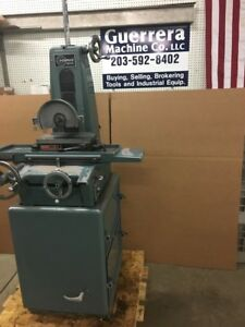 Harig Super 612 Surface Grinder With Built In Dust Collector