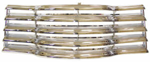 Chrome Ivory Grill Chevrolet Truck 1947 1948 1949 1950 1951 1952 1953 New