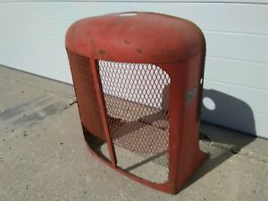 Allis Chalmers Wd Wd45 Ac Front Nose Cone Grill Screen Cover vintage Original