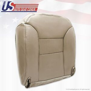 1995 96 97 98 1999 Chevy Tahoe Suburban Driver Bottom Leather Seat Cover Tan