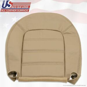 2002 To 2005 Ford Explorer Xls Driver Bottom Replacement Leather Seat Cover Tan