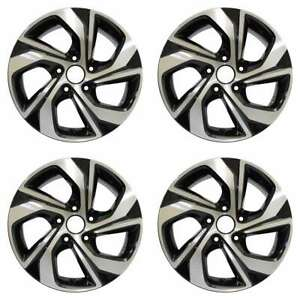 Honda Accord 2016 16 Factory Oem Wheels Rims Set