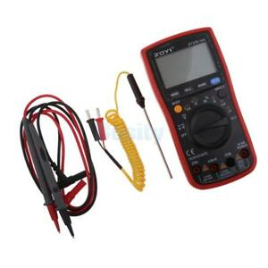 Zt219 Digital Multimeter Dc ac Frequency Resistance Diode Capacitance Tester