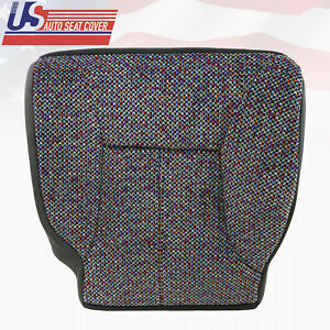 1999 Dodge Ram 1500 2500 3500 Slt Front Driver Bottom Cloth Seat Cover Agate