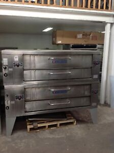 Bakers Pride Double Stack Deck Pizza Oven Y602