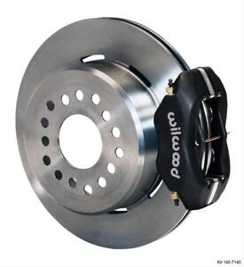 Wilwood Disc Brakes Rear Pro Series Solid Rotors 4 Piston Calipers Ford Sm