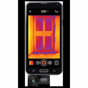 Thermal Imaging Camera Compact Heat Signature Android Imager Highly Portable