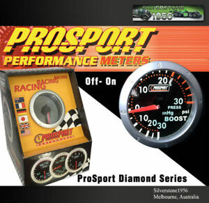 Prosport 2 52mm Oil Pressure Meter Gauge Diamond Series