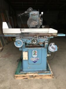 Jones Shipman Model 1400 Hydraulic Surface Grinder 8 X 24 Magnetic Chuck