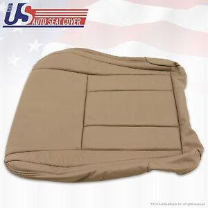 For 1996 To 2001 Toyota 4runner Sr5 Fits Driver Bottom Leather Seat Cover Tan