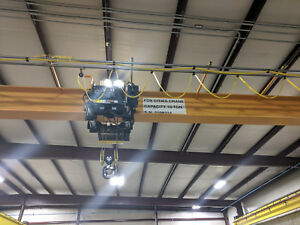 10 Ton Overhead Crane 46 Span Slightly Used