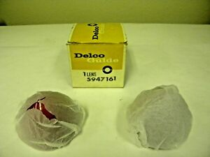 1956 Chevy Bel Air Bullet Tail Light Lens Delco Guide 5947161