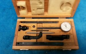Baker Universal Dial Test Indicator Set With Wood Case 001 10