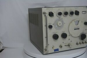 Hp Shf Signal Generator 620b Vintage For Parts And Repair Rusty