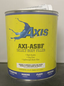 Axi asbf Lightweigh Body Filler equivalent To Z grip 0 8 Gallon