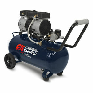 Campbell Hausfeld Quiet Series 1 Hp 8 Gal Hot Dog Air Compressor Dc080500 New