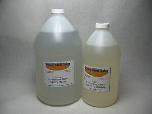 Proclear Epoxy Resin 2 1 Pourable For Tabletop Carbon Fiber More Gal hgal