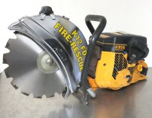 Husqvarna Partner Concrete Saw K950 Active Gas Power Cut Off Saw
