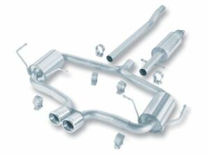 Borla 140119 For 2004 06 Mini Cooper S Incl Convertible Cat Back Exhaust