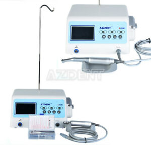 2pcs Dental Implant System Unit Surgical Brushless Motor contra Angle Handpiece