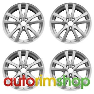 Lexus Is250 Is350 2006 2008 18 Factory Oem Staggered Wheels Rims Set Silver
