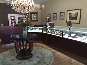 Jewelry Store Display Glass Cases 27 Showcases Grice Maple High Quality