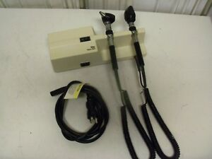 Welch Allyn 767 Series Diagnostic Set Ophthalmoscope Otoscope Heads