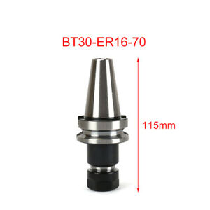 Bt30 Er16 70mm Tool Holder Milling Lathe Power Chuck Cnc New Holdtool