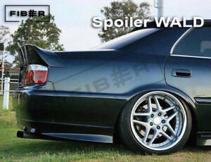 Wald Rear Trunk Spoiler Boot Wing Fit For Toyota Chaser Jzx100 fiber Fab