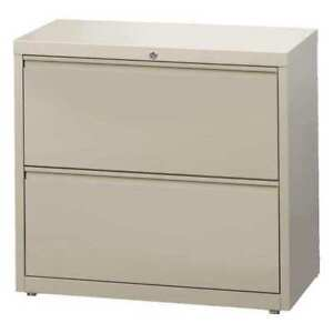 30 Wide Hl10000 Lateral File Cabinet 2 Drawer Putty Hirsh 14970