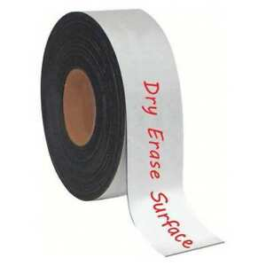 Mastervision Fm2118 Magnetic Strip Roll 2 H 50 Ft L G7313960