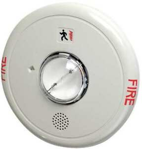 Horn Strobe marked Fire multi cd ceiling Edwards Signaling Egcf hdvm