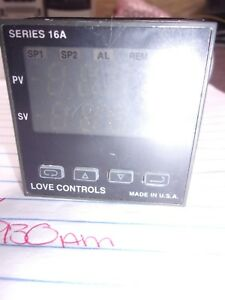 Love Controls 16a2133 Series 16a Temperature process Controller