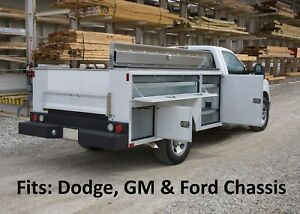 Dodge Utility Body Dually Chassis Truck Cm Sb Bed 60 Ca 4 Year Warranty B26915