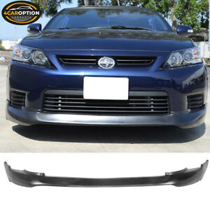 Fits 11 13 Scion Tc 5 Design Style Front Bumper Lip Spoiler Pu Unpainted