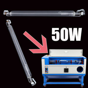 50w Co2 Laser Tube For Laser Cutting Engraver Machine High Power