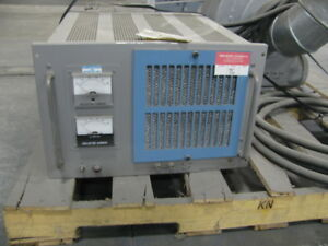 Model Ta100a Unholtz Dickie Vibration Shaker Amplifier 1 5 Kva Parts Or Repair