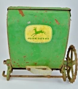 Vintage John Deer Steel Seeder Spreader
