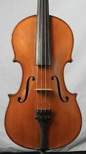 Vintage Old Antique 4 4 Violin German Lowendall Domincus Montagnana