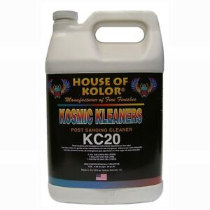 House Of Kolor Kc 20g Post Sanding Cleaner Use After Sanding Gallon Hok Kc20g