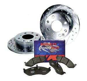 Ford Mustang Baer Sport Front Brake Rotor Pad Combo 54011 0600